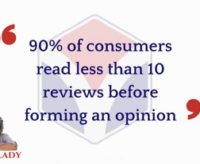 90% of Consumers Form Opinions on Less Than 10 Reviews | #AskArkLady