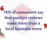 Consumers Trust Businesses With Positive Reviews | #AskArkLady