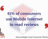 Increased Use of Mobile to Read Customer Reviews